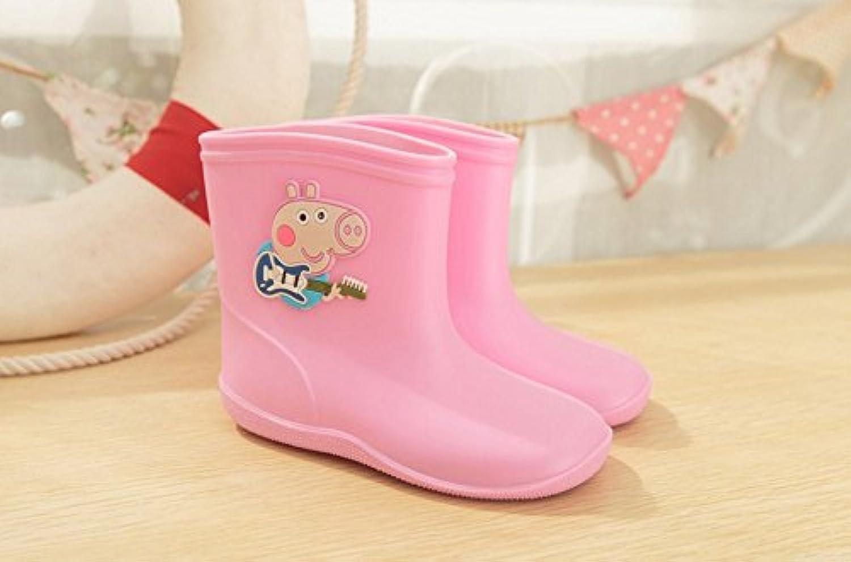 超可愛い 豚型 子供 雨靴 4色対応