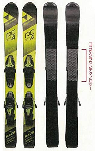 FISCHER(フィッシャー)RC4 レースクラウン JR 日本限定モデル ジュニアスキー板 ビンディングセット 子供用...