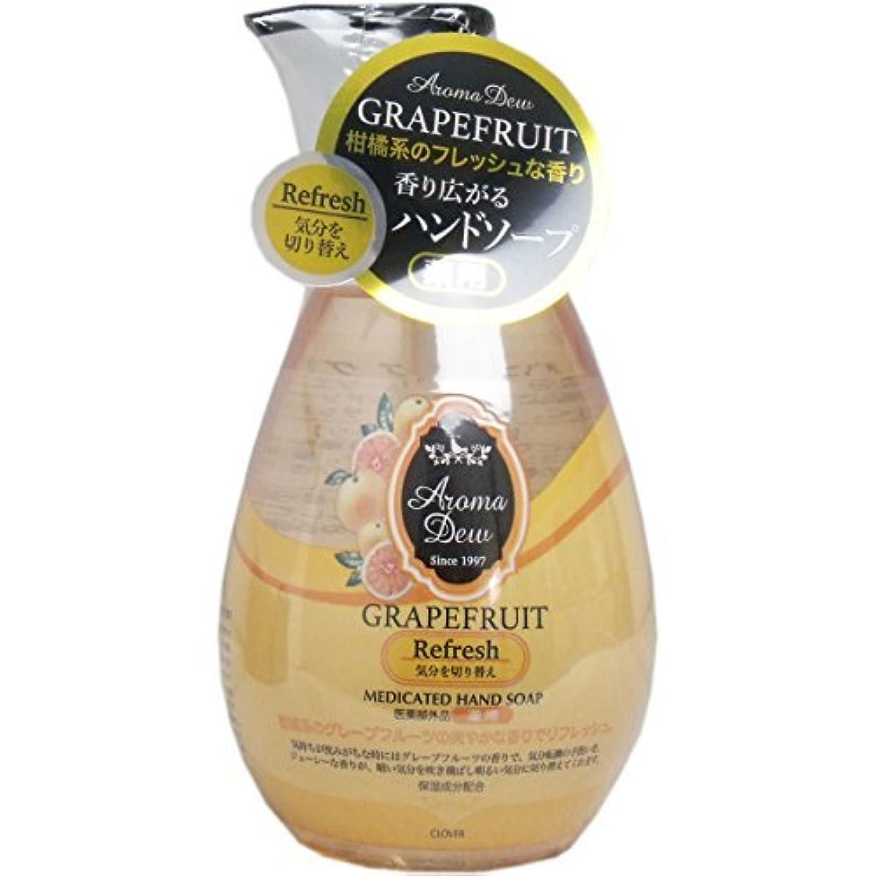 サンダース半島同行薬用アロマデュウ ハンドソープ グレープフルーツの香り 260mL