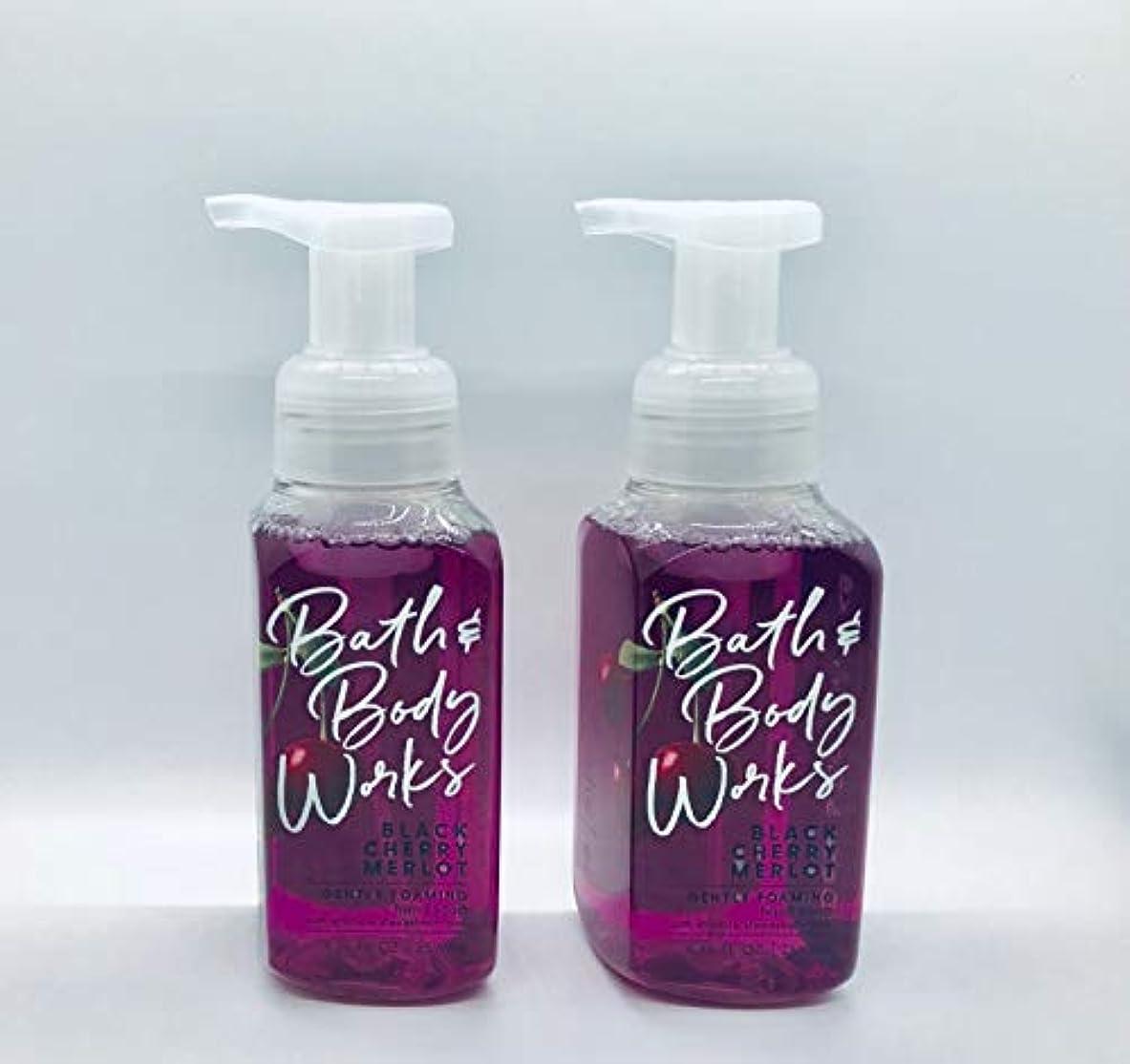 俳優動力学レインコートバス&ボディワークス ジェントル フォーミング ハンドソープ Black Chery MERLOT Gentle Foaming Hand Soap [並行輸入品]