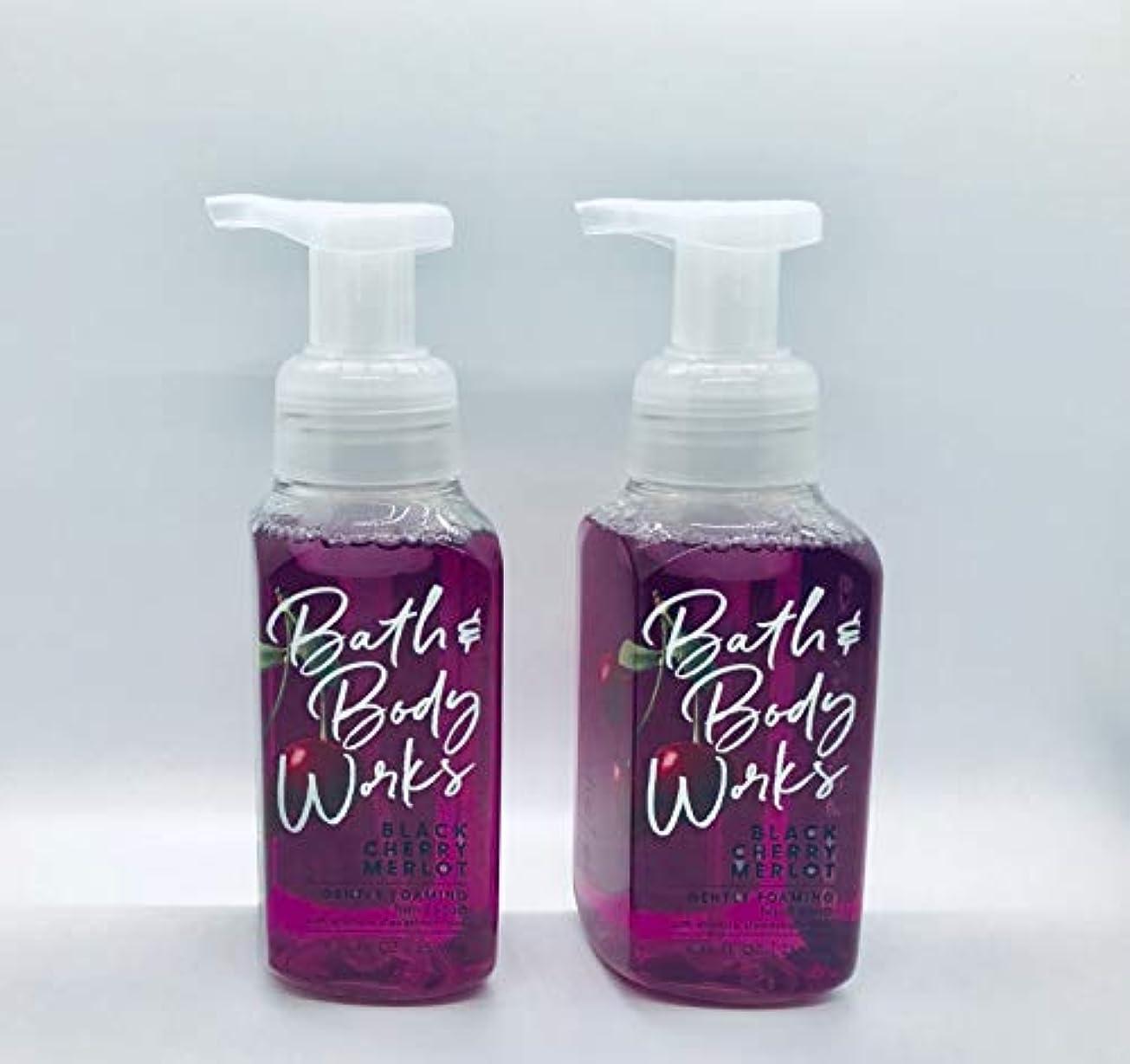 ルネッサンスローン別にバス&ボディワークス ジェントル フォーミング ハンドソープ Black Chery MERLOT Gentle Foaming Hand Soap [並行輸入品]