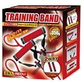 大人気!★トレーニングバンド2(レッド)おもり付き!ビリーズブートキャンプを楽しめる!
