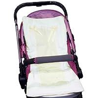 Baby Doll Bedding Stroller Covers, Ecru by BabyDoll Bedding [並行輸入品]
