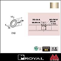 e-kanamono ロイヤル ベルラカバーホイールW(木フラッシュパネル用) BE-CW-W 19 Aニッケルサテン