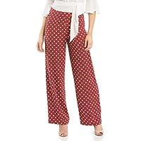 Review Women's Spot Surprise Pants Rust/White