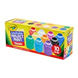 Crayola 54-1205 Washable Kid's Paint, 10ct