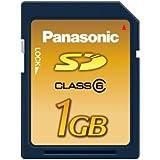 パナソニック SDメモリーカード1GB RP-SDV01GJ1A