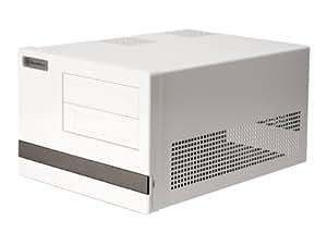 SilverStone Micro-ATX PCケース ホワイト SST-SG02W-F-USB3.0/A