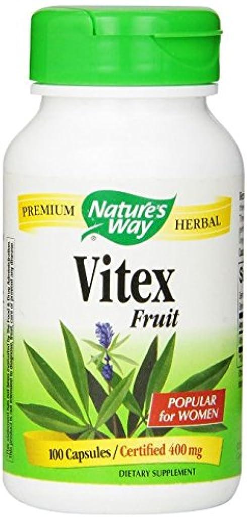 ましい廊下布ネイチャーズウェイ(Nature's Way) ビテックス Vitex Fruit 100カプセル [並行輸入品]