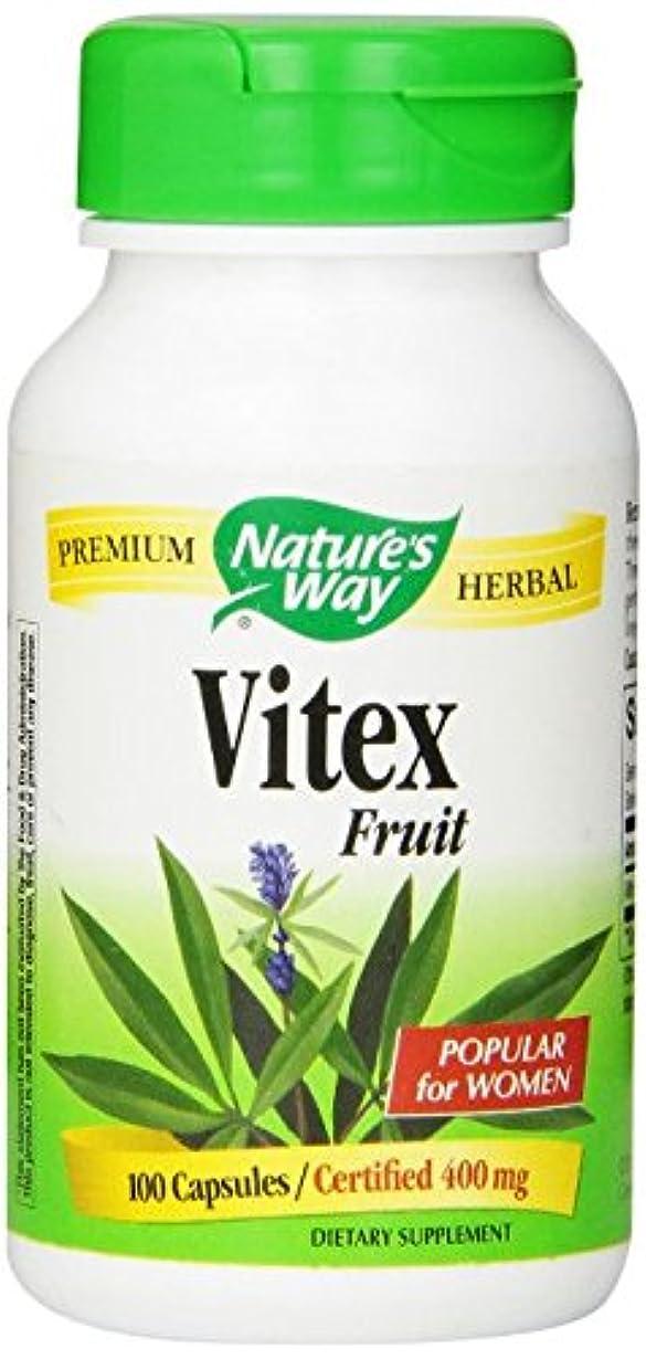 ステープルハードリングサロンネイチャーズウェイ(Nature's Way) ビテックス Vitex Fruit 100カプセル [並行輸入品]
