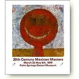 ルフィーノ タマヨ 20th Century Mexican Masters アートポスター / ルフィーノ・タマヨ