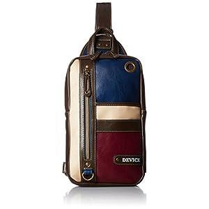 [デバイス] ボディバッグ トリコ DBG40033 NVWN ネイビー/ワイン