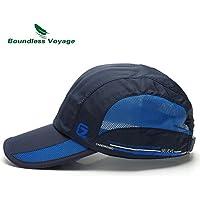 Boundless Voyage 野球帽 内周55~62cm 速乾メッシュ サンキャップ テニス /キャップ/ アウトドア /バイク用 スポーツハット