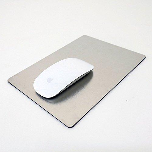 バード電子 10年品質のステンレス製マウスパッド