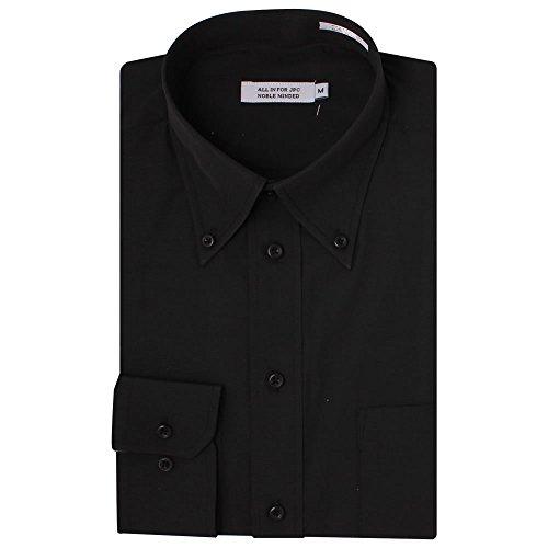 (アトリエサンロクゴ) atelier365 ワイシャツ イージーケアYシャツ 黒無地 /y9-7-9-1