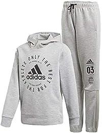 ffe0f6647ca9e スウェット 上下セット キッズ ジュニア 子ども アディダス adidas ID スウェットパーカー ロングパンツ スポーツウェア 男の子 女の子  上下組 スエット トレーナー…