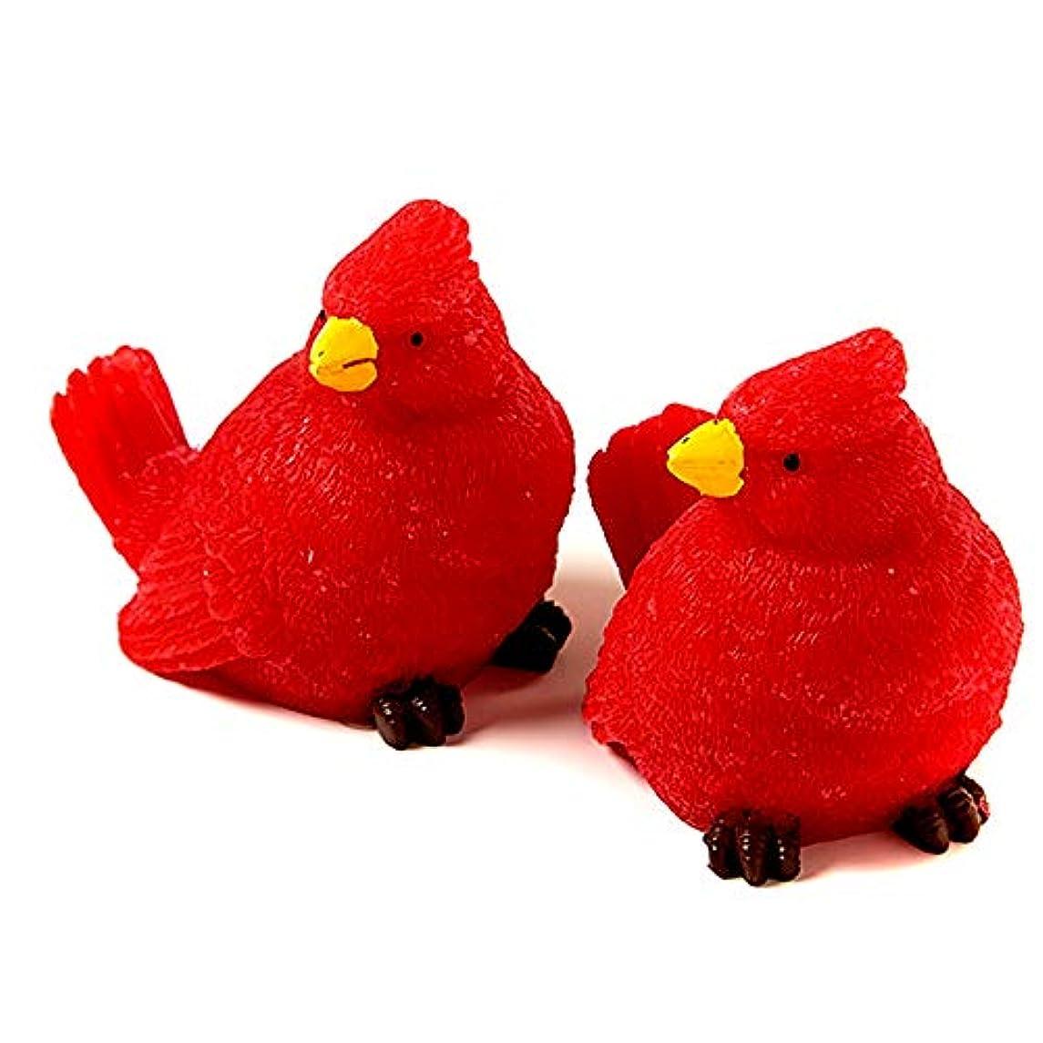 の慈悲で電卓困惑Flameless Candles Mini Cardinals 2pk by Inglow