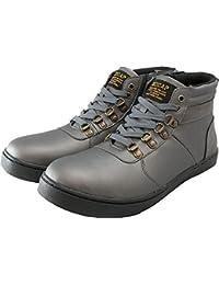 安全靴 スニーカー セーフティー シューズ サイドジップ 鉄芯 CPM365 プロテクティブ ハイカット 作業靴 ベルクロ