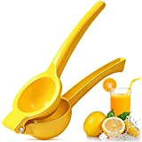 Upgraded Premium Lime/Lemon Squeezer Juicer, Whekeosh Metal Citrus Squeezer Hand Juicer The Fastest Extraction of the Freshes