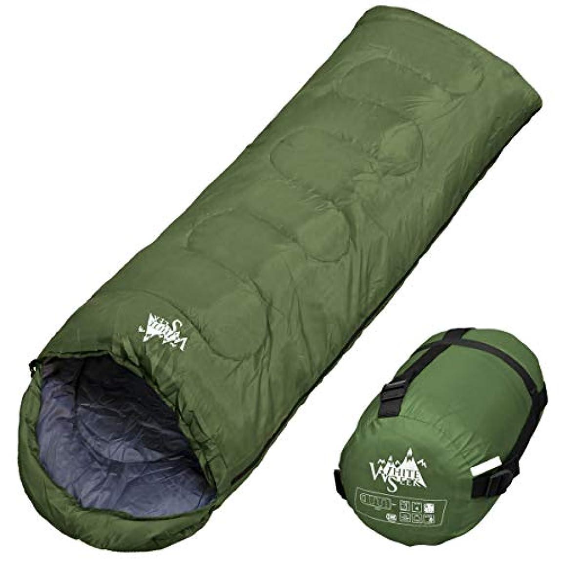 タイトマルコポーロ結果としてarchi 寝袋 シュラフ 封筒型 コンパクト収納タイプ 最低使用温度5℃ 1000g
