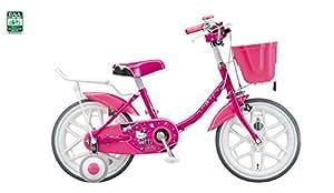 18型 子供用自転車 ハローキティ ポップ(マゼンタ) KT18E3
