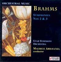 Brahms;Symphonies 2 + 3