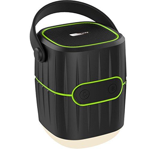 Superway LEDランタン 電球色 3-IN-1 多機能 キャンプ ランタン + 10400mAh モバイルバッテリー + Bluetoothスピーカー 防水防災 携帯型 テントライト