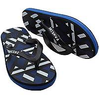 UNNIAO Boys Flip Flop - Summer Beach Slip-On Slipper Light Weight Soft Slider Pool Shoes