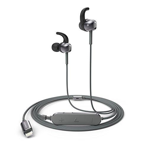 Anker SoundBuds Digital IE10 (ライトニング端子イヤホン)【ハイレゾ対応 / Apple MFi認証 / IPX3防水規格 / マイク内蔵】iPhone、iPad、 iPod各種対応