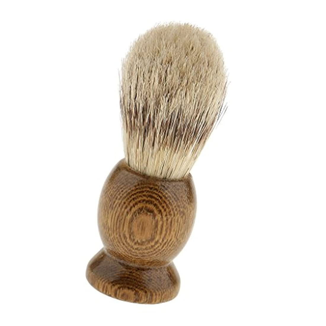 膜遺伝的モンスター髭剃りブラシ メンズ シェービングブラシ 泡立ち サロン 家庭 父の日 プレゼント 全5種類 - 4