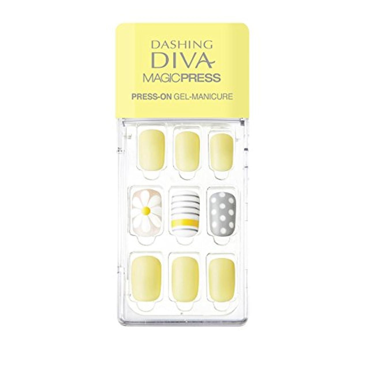 領域要件毎月ダッシングディバ マジックプレス DASHING DIVA MagicPress MDR135-DURY+ オリジナルジェル ネイルチップ
