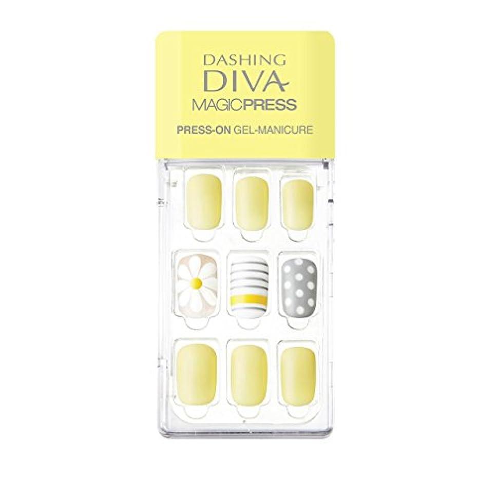 シネマケント市長ダッシングディバ マジックプレス DASHING DIVA MagicPress MDR135-DURY+ オリジナルジェル ネイルチップ