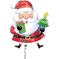 キッシーズ 【クリスマスバルーン】 サンタウィズツリー 風船 66x93cm 27229