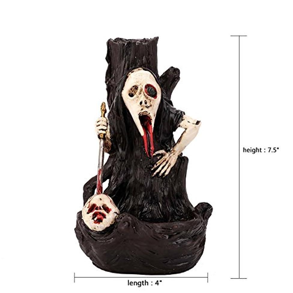 斧カウントアップブラザー香炉Dragon Castleゴシック装飾アロマセラピー彫刻と中世ファンタジーギフト+ 10 Incense Cones Simon (ゴースト)
