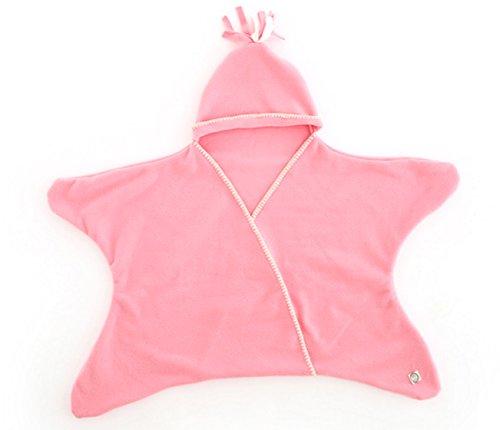 DEZAR 星型アフガン Star Wrap スターラップ ヒトデ型 (ピンク)