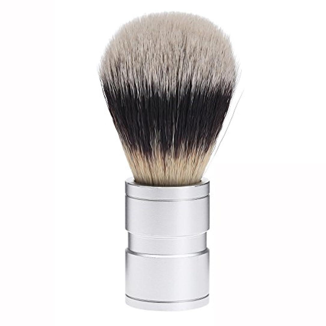 費用補助金知っているに立ち寄るDophee  シェービング用ブラシ シェービングブラシ メンズ 洗顔ブラシ イミテーションアナグマ毛 ファイン模倣 理容 洗顔 髭剃り