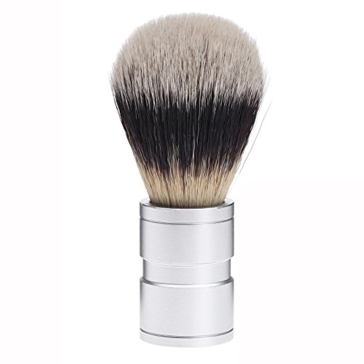 おばあさん禁止する立証するDophee  シェービング用ブラシ シェービングブラシ メンズ 洗顔ブラシ イミテーションアナグマ毛 ファイン模倣 理容 洗顔 髭剃り
