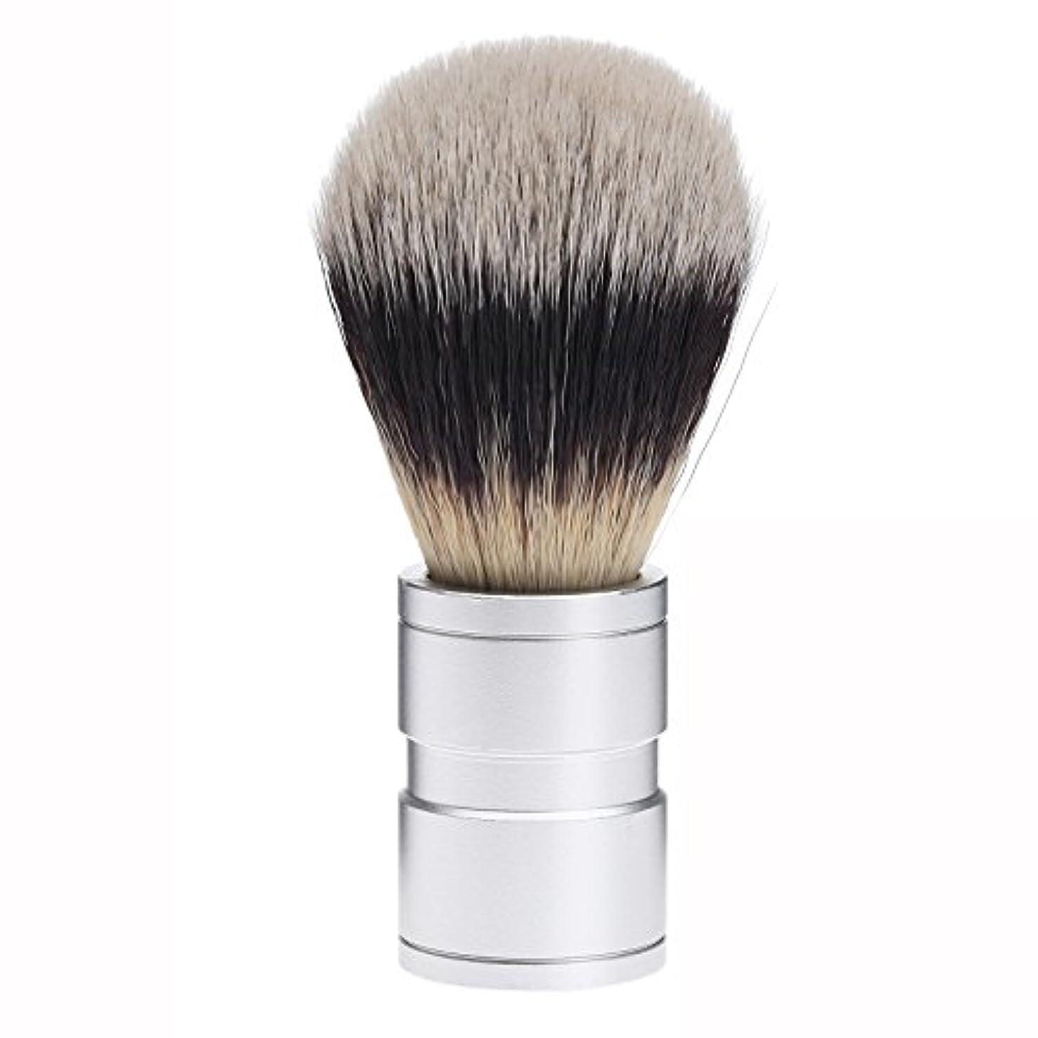はい群れロープDophee  シェービング用ブラシ シェービングブラシ メンズ 洗顔ブラシ イミテーションアナグマ毛 ファイン模倣 理容 洗顔 髭剃り