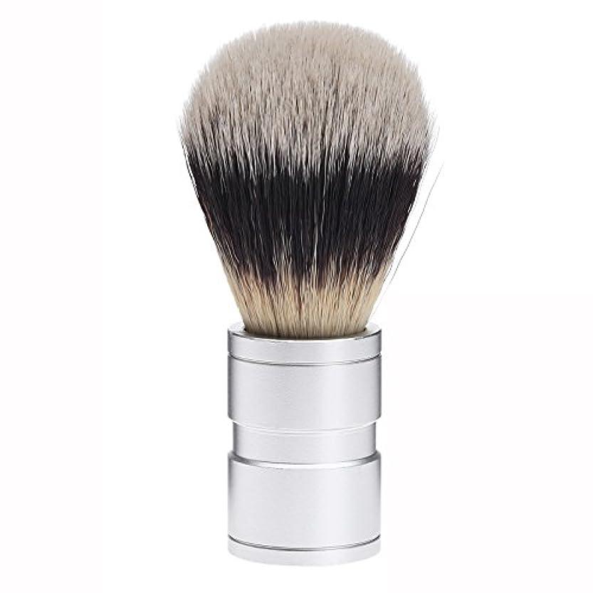 ペレット慣れる雷雨Dophee  シェービング用ブラシ シェービングブラシ メンズ 洗顔ブラシ イミテーションアナグマ毛 ファイン模倣 理容 洗顔 髭剃り