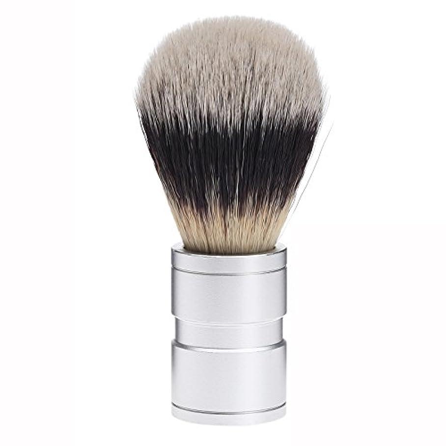 リハーサルあからさま不調和Dophee  シェービング用ブラシ シェービングブラシ メンズ 洗顔ブラシ イミテーションアナグマ毛 ファイン模倣 理容 洗顔 髭剃り