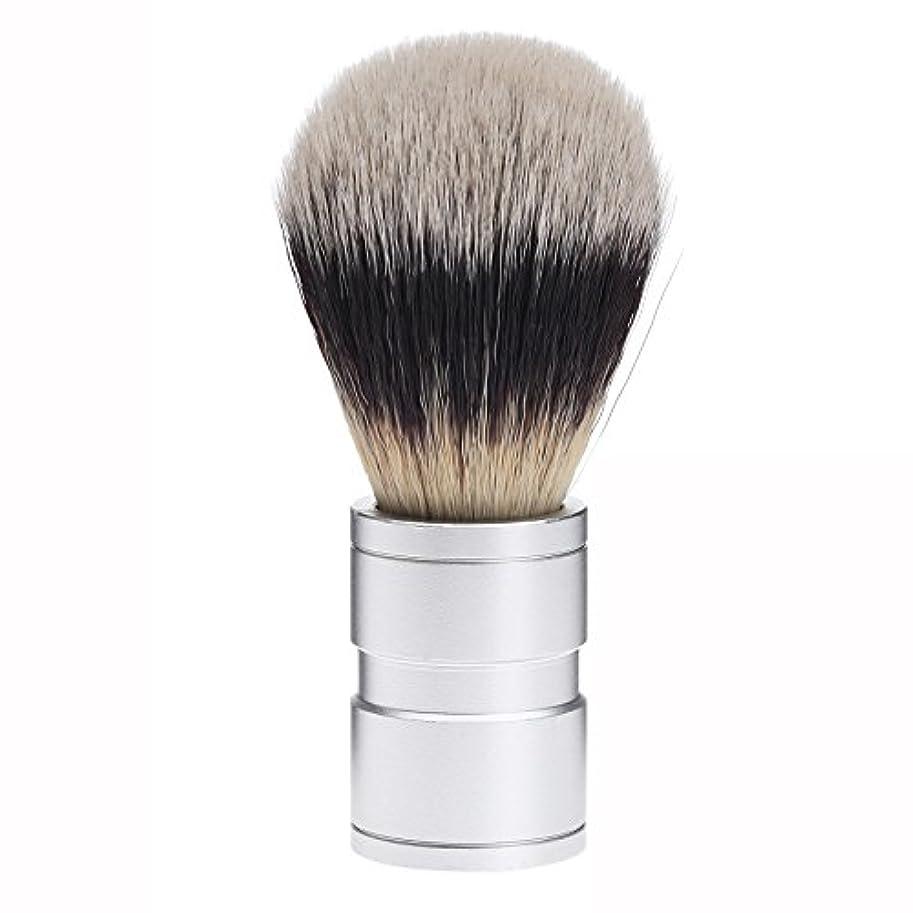 独裁ダーベビルのテス深いDophee  シェービング用ブラシ シェービングブラシ メンズ 洗顔ブラシ イミテーションアナグマ毛 ファイン模倣 理容 洗顔 髭剃り