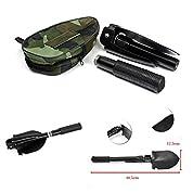 スコップ シャベル 軍用携帯折りたたみシャベル 多機能ミニ キャンプやガーデニングのための適切な [並行輸入品]