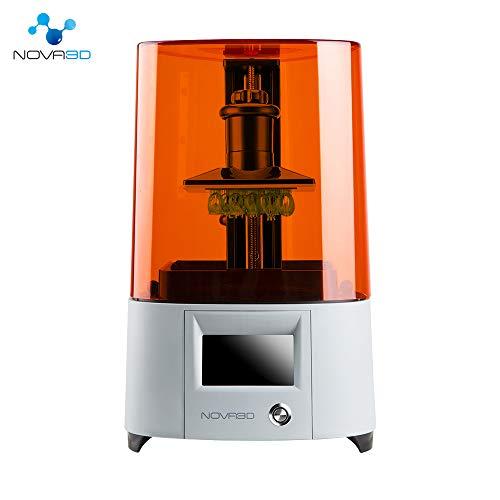 NOVA3D Elfin LCD 光造形式 3Dプリンター、130*70*150mm 印刷サイズ、WiFi/オフライン許可する UV LED 樹脂...