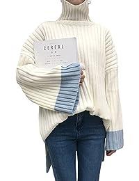(S.W.グロッシィ) S.W.Grossy レディース ハイネック ワイドスリーブ デザイン セーター