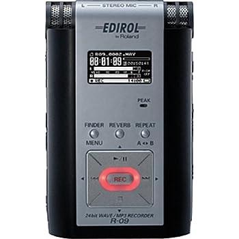 Roland 24bit WAVE/MP3 RECORDER R-09