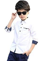 6cfa63729b9e1 Amazon.co.jp  160 - シャツ   ボーイズ  服&ファッション小物
