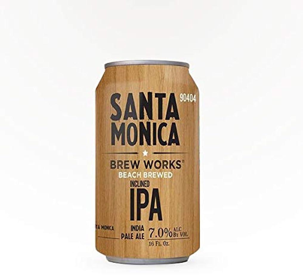 大陸クレーター差別するSanta Monica Brew Works Modern Inclined IPA 355ml缶×24本入り1ケース
