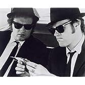 ブロマイド写真★『ブルース・ブラザーズ』車の中の2人/白黒/ジョン・ベルーシ、ダン・エイクロイド