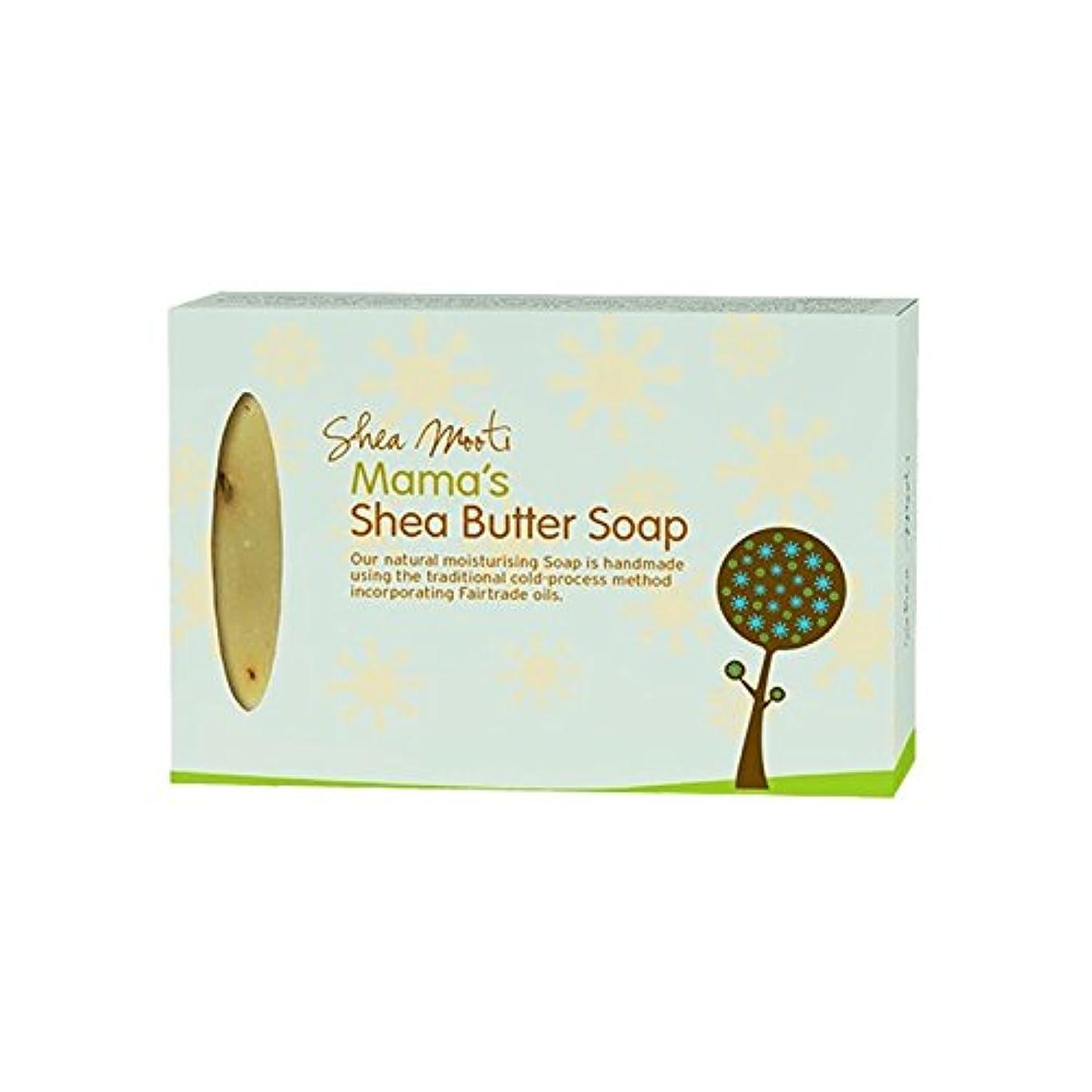 まどろみのある不正マントShea Mooti Mama's Shea Butter Soap 100g (Pack of 6) - シアバターMootiママのシアバターソープ100グラム (x6) [並行輸入品]