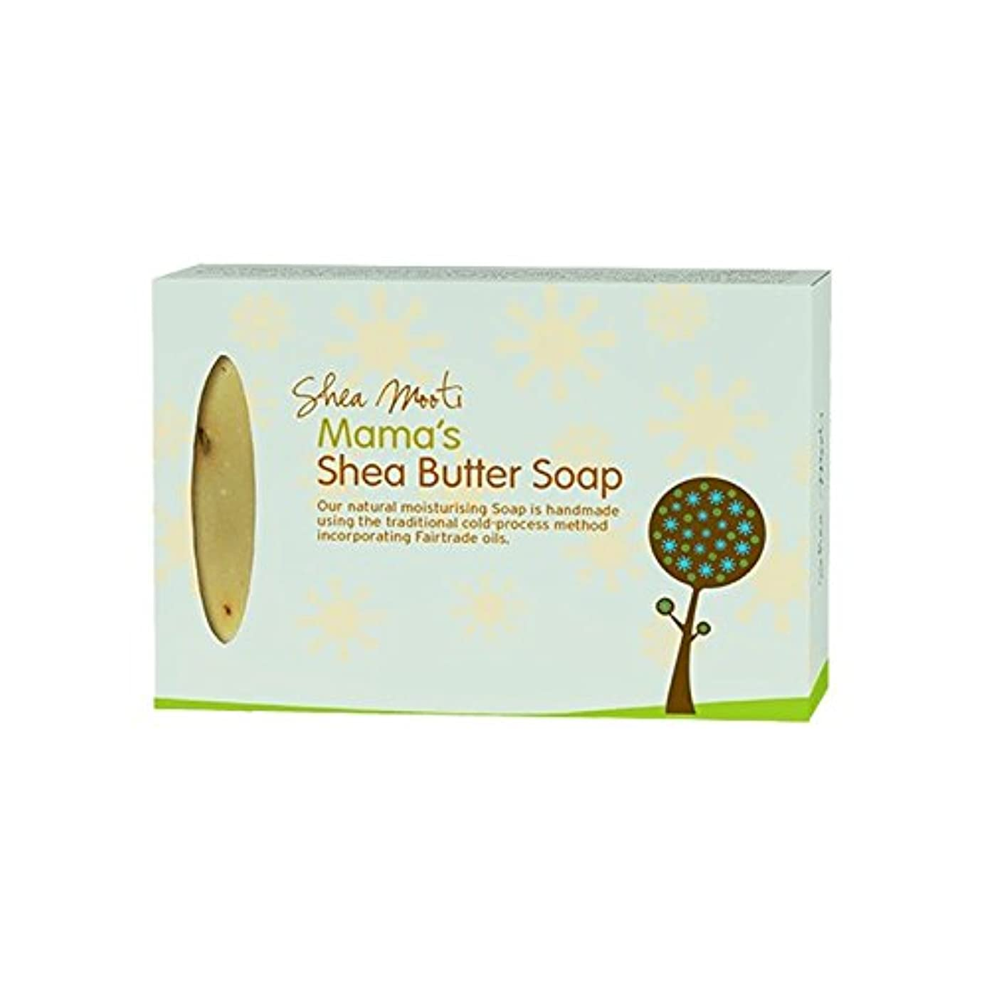 Shea Mooti Mama's Shea Butter Soap 100g (Pack of 6) - シアバターMootiママのシアバターソープ100グラム (x6) [並行輸入品]
